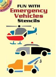 Cover of: Fun with Emergency Vehicles Stencils