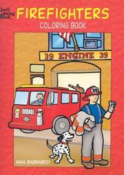 Cover of: Firefighters Coloring Book