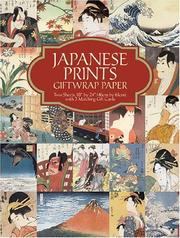 Cover of: Japanese Prints Giftwrap Paper | Carol Belanger Grafton