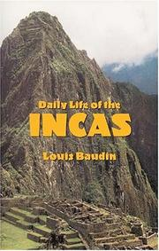 Cover of: Daily life of the Incas