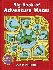 Cover of: Big Book of Adventure Mazes (Entertain with Mind-Boggling Puzzles Big Books for Hours of) | Dave Phillips