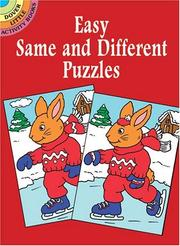 Cover of: Easy Same and Different Puzzles