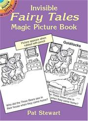 Cover of: Invisible Fairy Tales Magic Picture Book | Pat Stewart