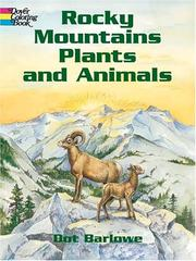 Rocky Mountains Plants and Animals Coloring Book