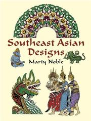 Cover of: Southeast Asian Designs | Marty Noble