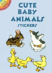 Cover of: Cute Baby Animals Stickers