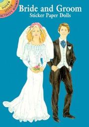 Cover of: Bride and Groom Sticker Paper Dolls