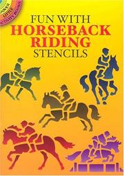 Cover of: Fun with Horseback Riding Stencils