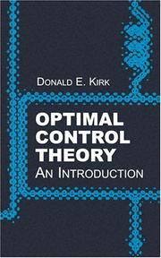 Cover of: Optimal Control Theory