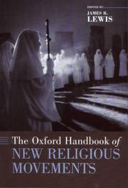 Cover of: The Oxford handbook of new religious movements