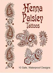 Cover of: Henna Paisley Tattoos