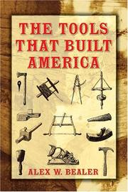Cover of: The Tools that Built America