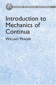 Cover of: Introduction to mechanics of continua