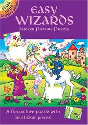 Cover of: Easy Wizards Sticker Picture Puzzle