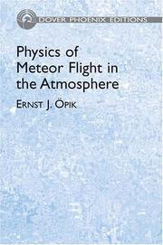 Cover of: Physics of meteor flight in the atmosphere