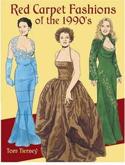 Cover of: Red Carpet Fashions of the 1990s (Paper Dolls)