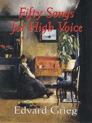 Cover of: Fifty Songs for High Voice