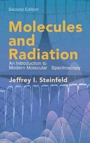 Cover of: Molecules and radiation