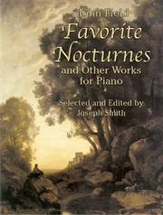 Cover of: Favorite Nocturnes and Other Works for Piano
