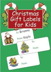 Cover of: Christmas Gift Labels for Kids