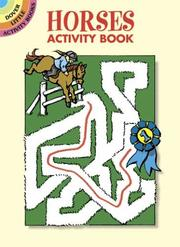 Cover of: Horses Activity Book