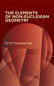 Cover of: The elements of non-Euclidean geometry