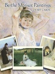 Cover of: Berthe Morisot Paintings