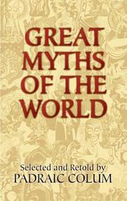 Cover of: Great Myths of the World