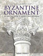 Cover of: Treasury of Byzantine ornament