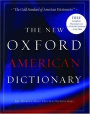 Cover of: The New Oxford American Dictionary |