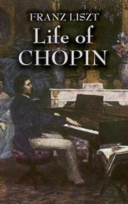 Cover of: F. Chopin