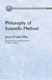 Cover of: Philosophy of scientific method