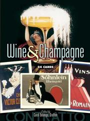Cover of: Wine and Champagne