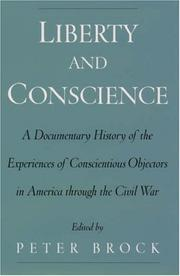 Cover of: Liberty and Conscience