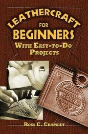 Cover of: Leathercraft for Beginners