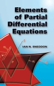 Cover of: Elements of Partial Differential Equations