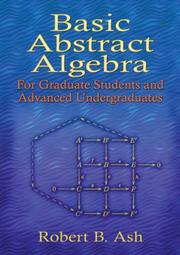 Cover of: Basic Abstract Algebra