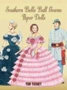 Cover of: Southern Belle Ball Gowns Paper Dolls