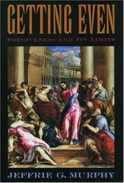 Cover of: Getting Even