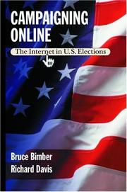 Cover of: Campaigning online |