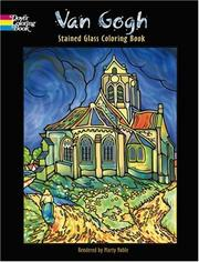Cover of: Van Gogh Stained Glass Coloring Book