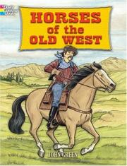 Cover of: Horses of the Old West