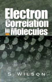 Cover of: Electron Correlation in Molecules | S. Wilson