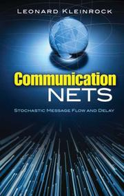 Cover of: Communication Nets