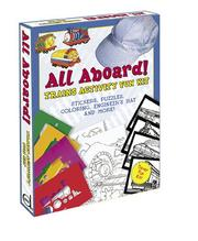 Cover of: All Aboard! Trains Activity Fun Kit | Dover Publications, Inc.