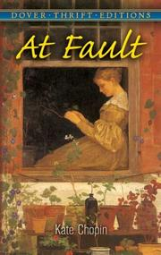 Cover of: At Fault (Thrift Edition) | Kate Chopin
