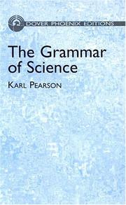 Cover of: The Grammar of Science