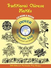 Cover of: Traditional Chinese Motifs CD-ROM and Book
