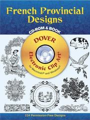 Cover of: French Provincial Designs CD-ROM and Book