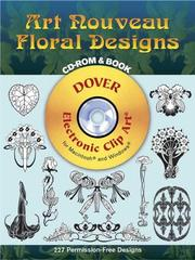 Cover of: Art Nouveau Floral Designs CD-ROM and Book
